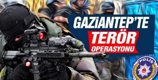 Gaziantep'te terör örgütü PKK/YPG'ye yönelik operasyonda 1 tutuklama