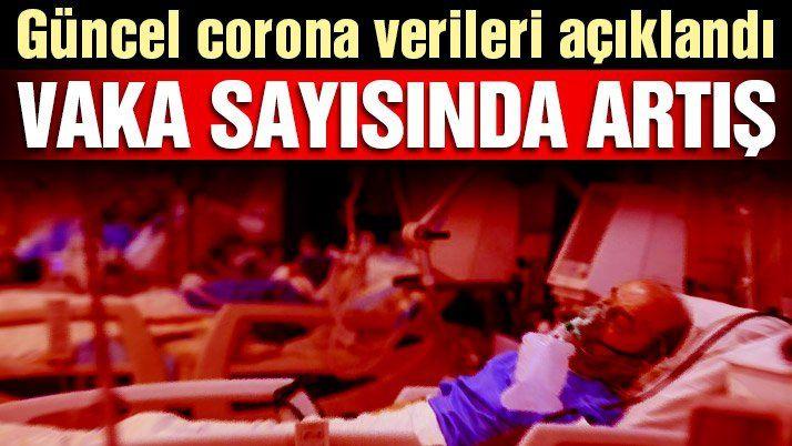 Son dakika… Güncel vaka ve vefat sayısı açıklandı! İşte 9 Şubat corona tablosu