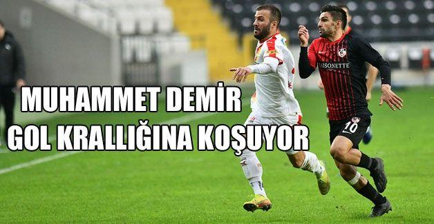 Gaziantep FK'da yerli kral Muhammet Demir