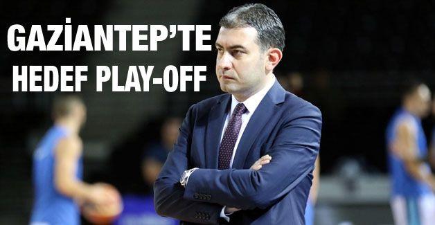 Gaziantep Basketbol'da hedef play-off