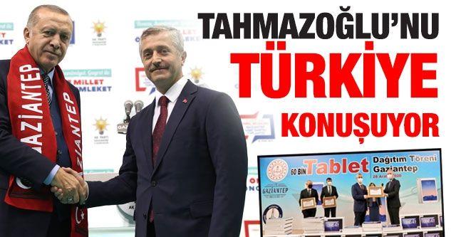 Tahmazoğlu'nu Türkiye konuşuyor