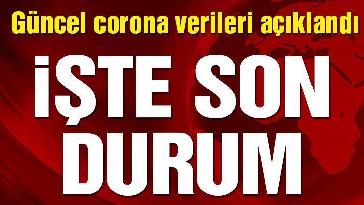 Son dakika… 16 Şubat'ın corona virüsü verileri açıklandı