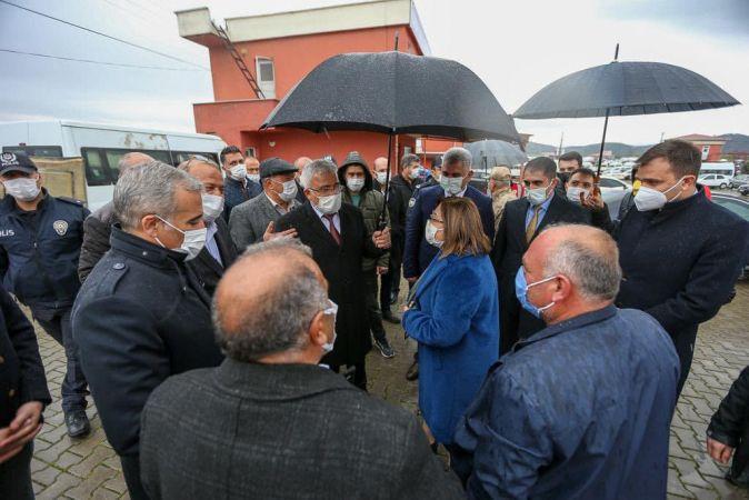 Gül ve Şahin'den Nurdağı'na ziyaret