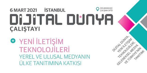Yerel, ulusal ve uluslararası medya, Dolmabahçe'de dijital medya çalıştayında buluşacak