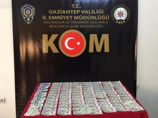 Gaziantep'te sahte Amerikan Doları ile alışveriş yapan şahıslar yakalandı