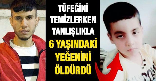 Son dakika!.. Gaziantep'te Tüfeğini temizlerken yanlışlıkla 6 yaşındaki yeğenini öldürdü