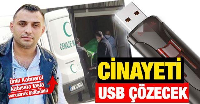 Cinayeti USB Çözecek