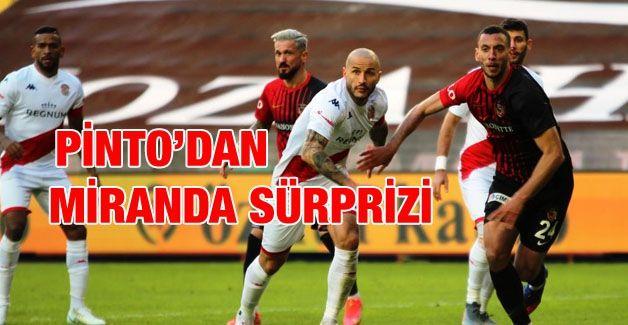 Miranda sürprizi!