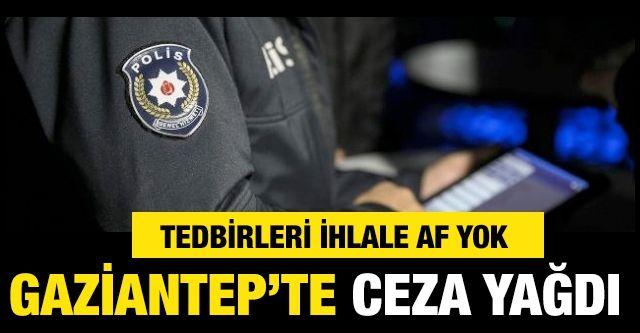 Gaziantep'te Kovid-19 tedbirlerini ihlal eden 414 kişiye para cezası
