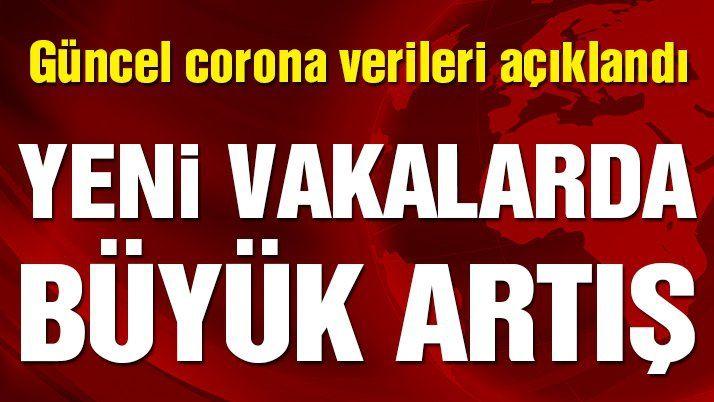 Son dakika… Güncel vaka ve vefat sayısı açıklandı! İşte 23 Şubat corona tablosu