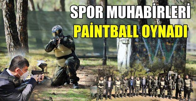 Spor Muhabirleri paintball oynadı