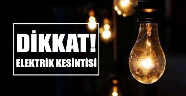 Gaziantep'te yine elektrik kesintisi