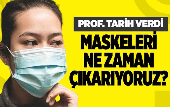 Prof. Dr. Recep Tekin maske için tarih verdi! 2021 hayal oldu