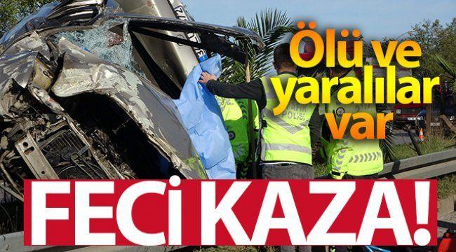 Gaziantep'te otomobilin çarptığı kişi öldü