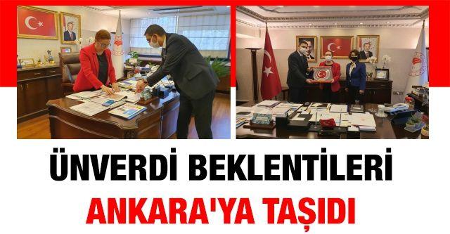 GSO Yönetim Kurulu Başkanı Ünverdi İş Dünyasının Beklentilerini Ankara'ya Taşıdı