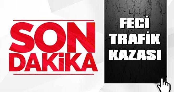 Son dakika Şanlıurfa - Gaziantep Otoyolu'nda feci trafik kazası