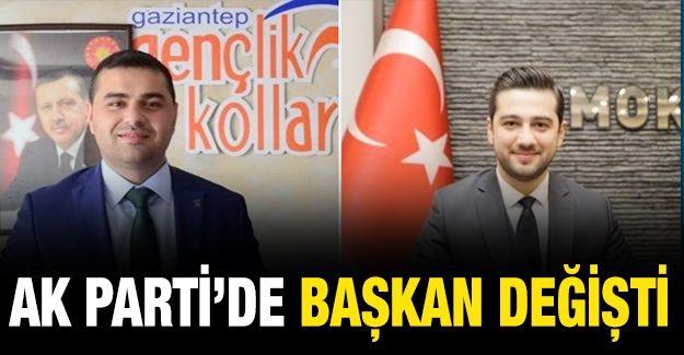 AK Parti'de Gençlik Kolları başkanı değişti!