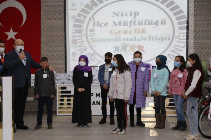 Nizip'te Müminin Miracı Namazdır Yarışması ödül töreni yapıldı