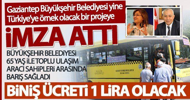 Türkiye'ye örnek olacak bir projeye imza attı