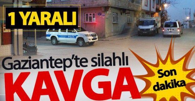 Son Dakika...Gaziantep'te Husumetli iki kişi arasında silahlı kavga