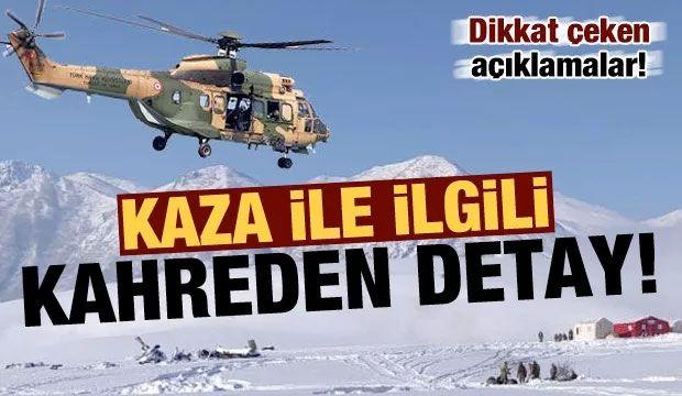 Son dakika: 11 askerimizin şehit olduğu kazayla ilgili kahreden detay!