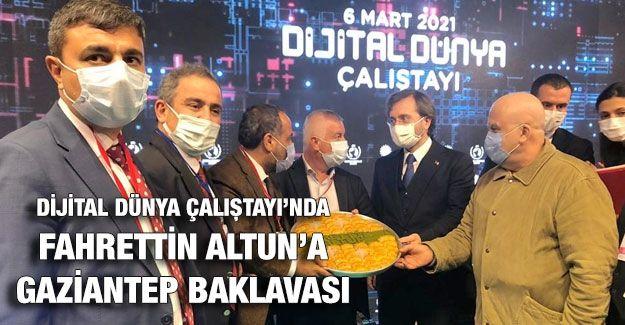Dijital Dünya Çalıştayı'nda Gaziantep Baklavası