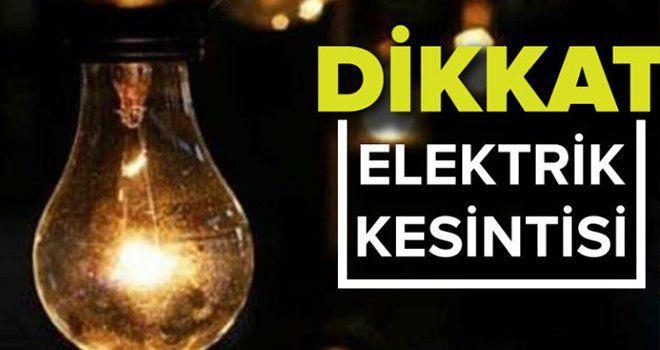 Son Dakika..Gaziantep'e Enerjisa Duyurdu...Dikkat! Gaziantep'te yine elektrik kesintisi yaşanacak
