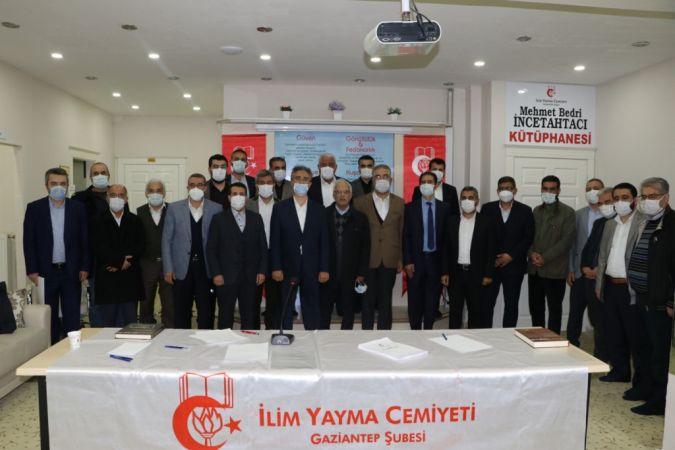 İlim Yayma Cemiyeti Gaziantep Şube Başkanı Arslan oldu