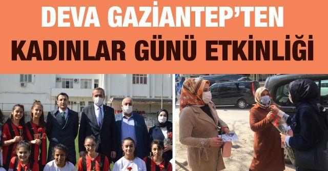 DEVA Gaziantep'ten Kadınlar Günü Etkinliği
