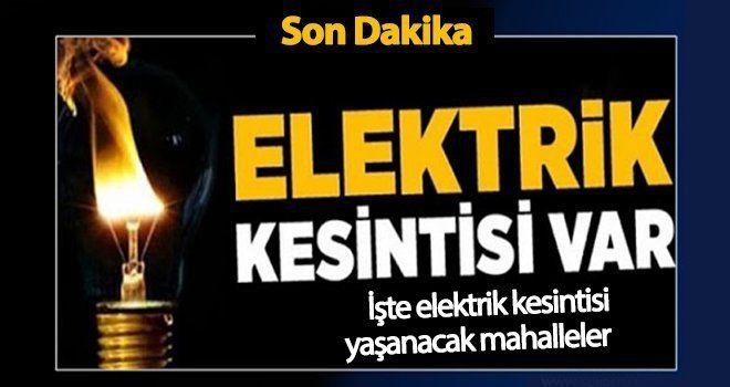 Gaziantep'te elektrik kesintisi yine yaşanıyor