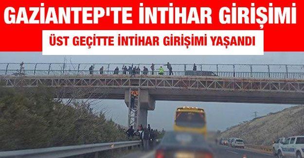 Gaziantep'te intihar girişimi yaşandı