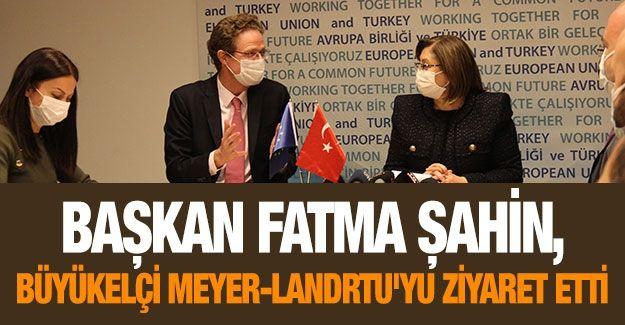 Şahin, Büyükelçi Meyer-Landrtu'yu ziyaret etti