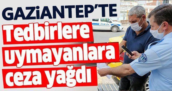 Gaziantep'te Kovid-19 tedbirlerini ihlal eden 302 kişiye para cezası uygulandı
