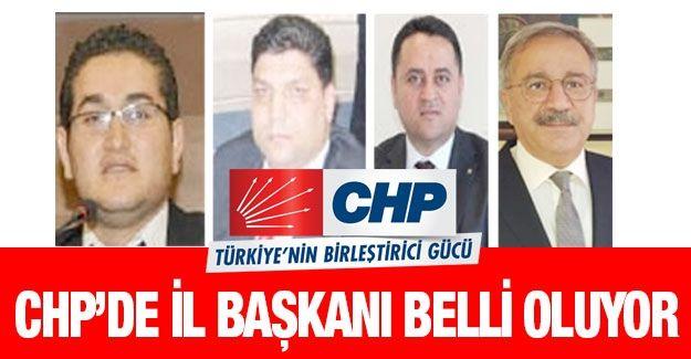 CHP'de il başkanı belli oluyor