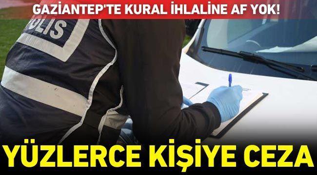 Gaziantep'te Kovid-19 tedbirlerini ihlal eden 272 kişiye para cezası uygulandı