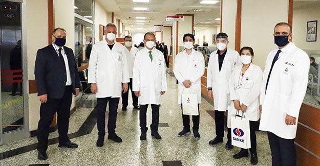 Sanko Üniversitesi Ve Hastanesinde Tıp Bayramı Kutlamaları