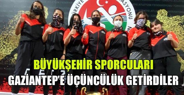 Gaziantep'e Türkiye 3'üncülüğü getirdiler