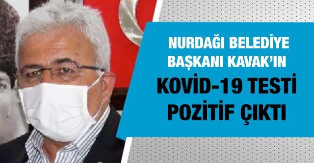 Nurdağı Belediye Başkanı Ökkeş Kavak'ın Kovid-19 testi pozitif çıktı