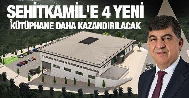 Şehitkamil'e 4 Yeni Kütüphane Daha Kazandırılacak