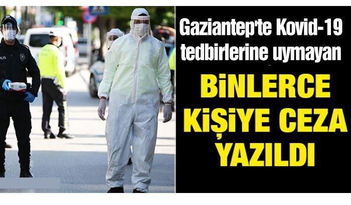 Gaziantep'te Kovid-19 tedbirlerini ihlal eden 146 kişiye para cezası