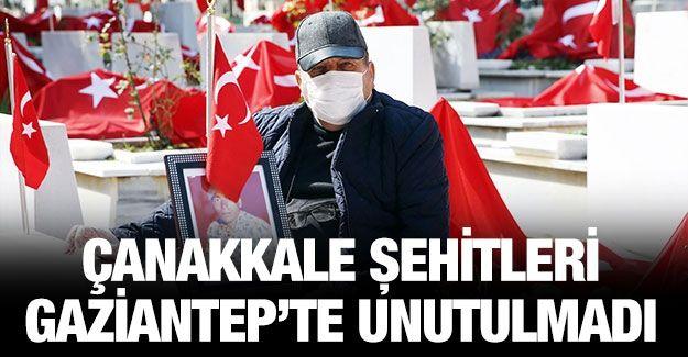 Gaziantep'te 18 Mart Şehitleri Anma Günü ve Çanakkale Deniz Zaferi'nin 106. yıl dönümü kutlandı