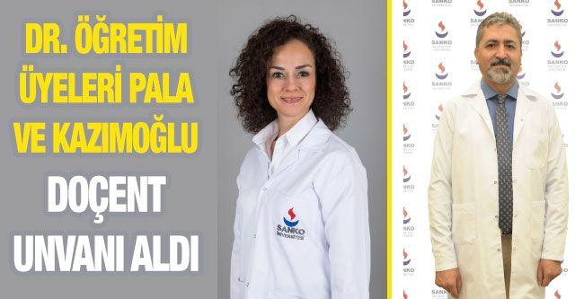 Dr. Öğretim Üyeleri Pala Ve Kazımoğlu Doçent Unvanı Aldı