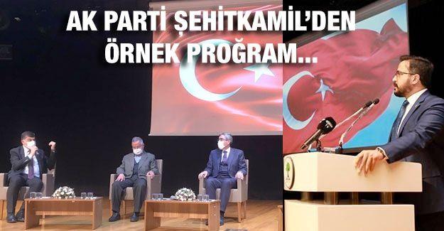 AK Parti Şehitkamil'den örnek proğram...