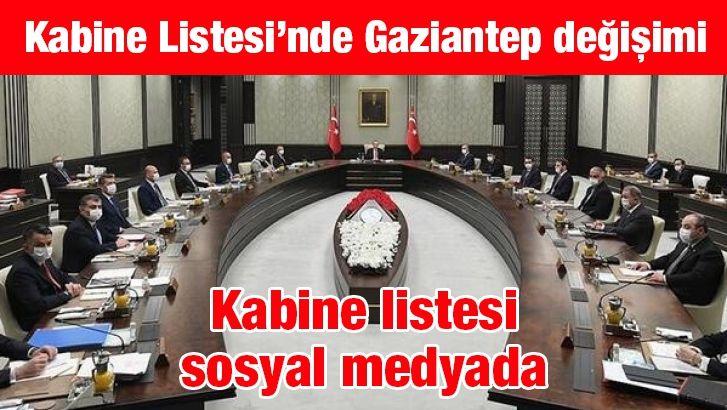 Kabine'de Gaziantep değişimi olacak gibi...