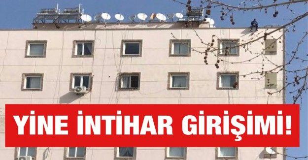 Son Dakika...Gaziantep'te NCR Hastanesi'nin karşısında intihar girişimi