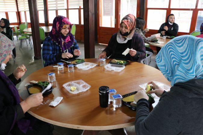 Gaziantep'teki obezite hastaları kendilerine özel kampta kilolarından kurtulmayı öğreniyor