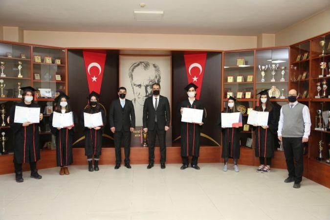 GKV Cemil Alevli Koleji'nde IB diploma heyecanı