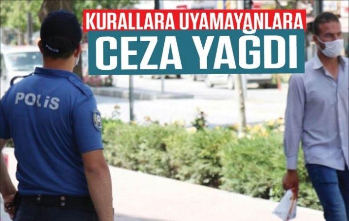 Gaziantep'te Kovid-19 tedbirlerini ihlal eden 196 kişiye para cezası kesildi