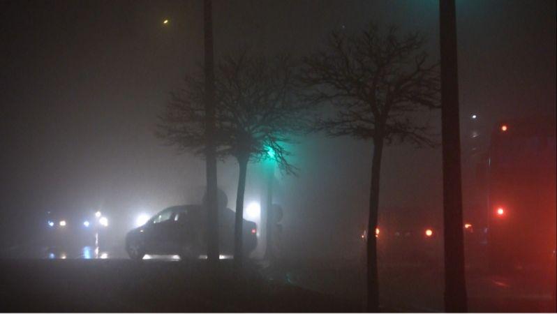 Gaziantep'te yoğun sis etkili oldu