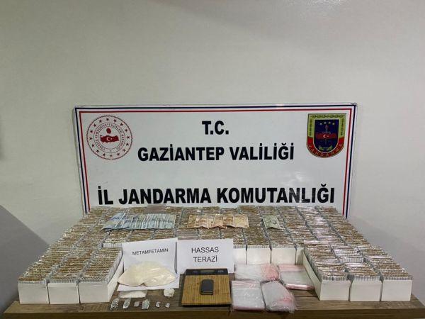Gaziantep'te uyuşturucu operasyonu: 4 gözaltı